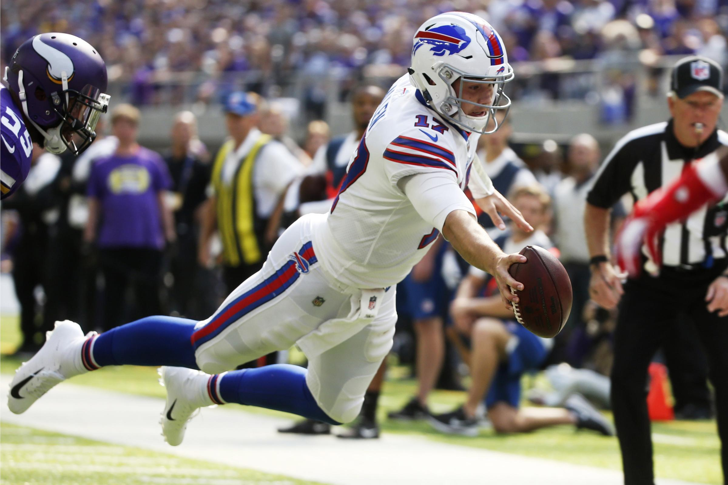 GAME RECAP: Bills dominate Vikings in first win of the season